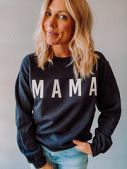 Mama Crew Neck Sweatshirt