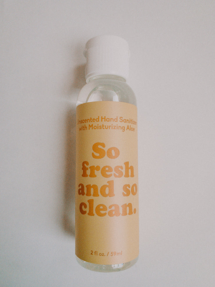 So Fresh and So Clean Sanitizer