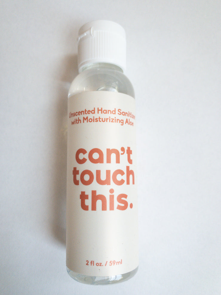 Can't Touch This Sanitizer