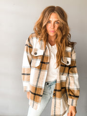 Bad Guy Plaid Oversized Jacket