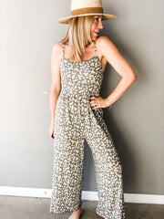 Dancing In Daisies Crop Jumpsuit