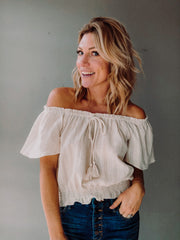 Meadows Off the Shoulder Top