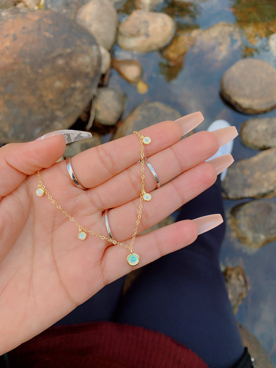 Whoville Opal Necklace Set