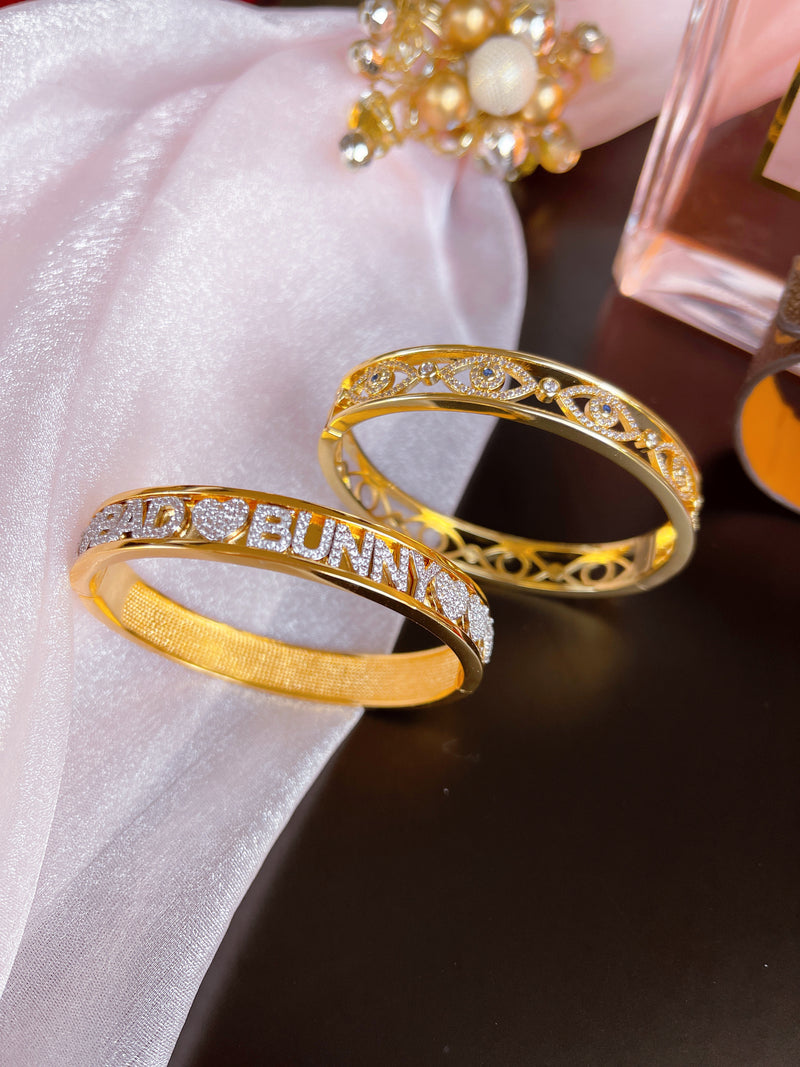 Bad Bunny Bangle Set