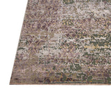 8X10 Oxidized Nepal Wool & Silk Rug