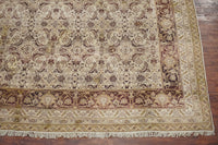 Antique 11X15 Hand-Knotted Area Rug, circa 1880