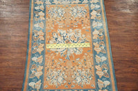 4X7 Antique Cotton Indian Agra Rug, circa 1920