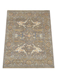 8X10 Brown Oushak Area Rug