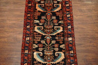 3X16 Vintage Unusual Persian Malayer Runner, circa 1940