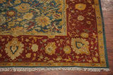 16X20 Antique Indian Agra Rug, circa 1890