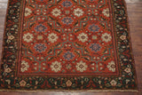 6X9 Antique Signed Indian Agra Rug, circa 1880