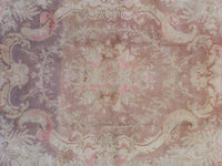 6X8 Signed Antique Cotton Agra Rug, circa 1900