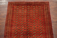 5X13 Antique Bukhara Turkoman Gallery Runner, circa 1900