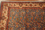 10X13 Signed Persian Tabriz with Abrash, circa 1960