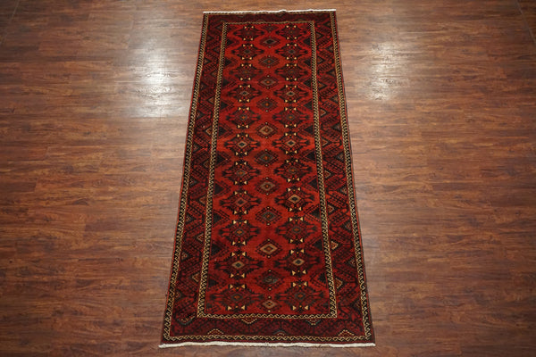 5X11 Baluchi Tribal Gallery Runner, circa 1940