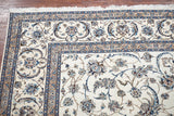 13X19 Persian Wool and Silk Naein Area Rug
