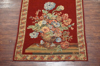 5X6 Vintage Tapestry with a Flower and Vase Design