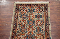 4X6 Fine Persian Serapi Heriz Rug with Goat & Rooster Design, circa 1970