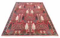 9X12 Willow Tree Hand-Knotted Rug