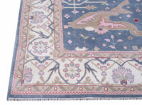 12X15 Oushak Area Rug Hand-Knotted Carpet