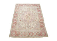 Antique 9X11 Cotton Serapi Rug, ca 1920