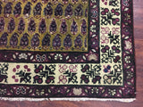 7X12 Antique Paisley Design Agra, circa 1900