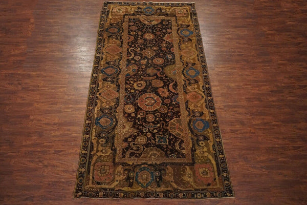 7X15 Antique Indian Agra Gallery Runner, circa 1880