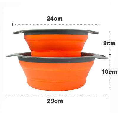 Round Foldable Drain Basket