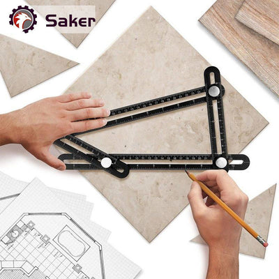 Saker® Angle Layout Measuring Ruler