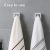 Punch-Free Hook for Towel Storage