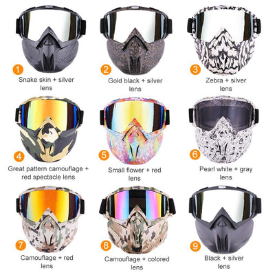 Professional Outdoor Anti-fog Mask