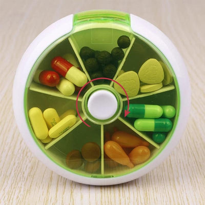 7-Day Pill Organizer Medicine Box