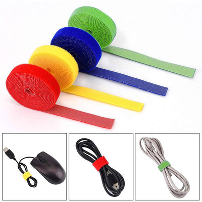 Self-Attaching Nylon Cable Ties
