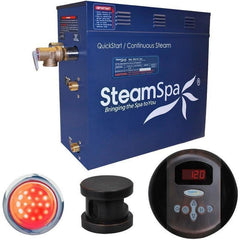 Steam Spa Steam Generators No SteamSpa QuickStart Indulgence 7.5 KW Acu-Steam Bath Generator IN750OB