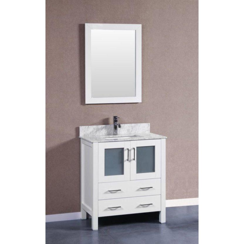 "Bosconi 30"" Single Vanity Bathroom Vanity AW130CMU"