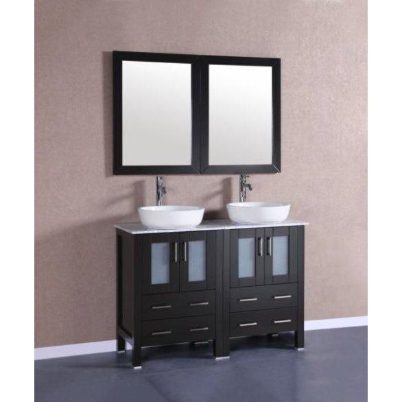"Bosconi 48"" Double Vanity Bathroom Vanity AB224BWLCM"