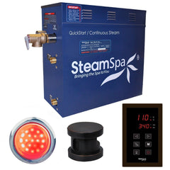 SteamSpa QuickStart Indulgence 4.5 KW Acu-Steam Bath Generator INT450OB