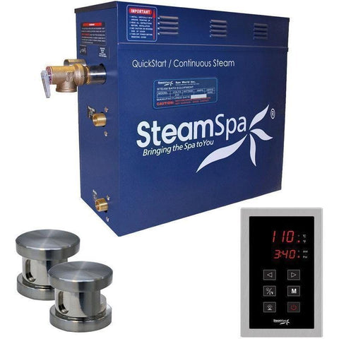 Steam Spa Steam Generators No SteamSpa QuickStart Oasis 10.5 KW Acu-Steam Bath Generator OAT1050BN
