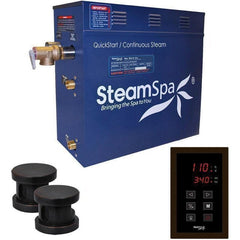 Steam Spa Steam Generators No SteamSpa QuickStart Oasis 10.5 KW Acu-Steam Bath Generator OAT1050OB