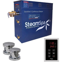 Steam Spa Steam Generators No SteamSpa QuickStart Oasis 10.5 KW Acu-Steam Bath Generator OAT1050CH