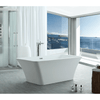 "Image of Legion Furniture 67"" Rectangular Freestanding Bathtub in White WE6840"