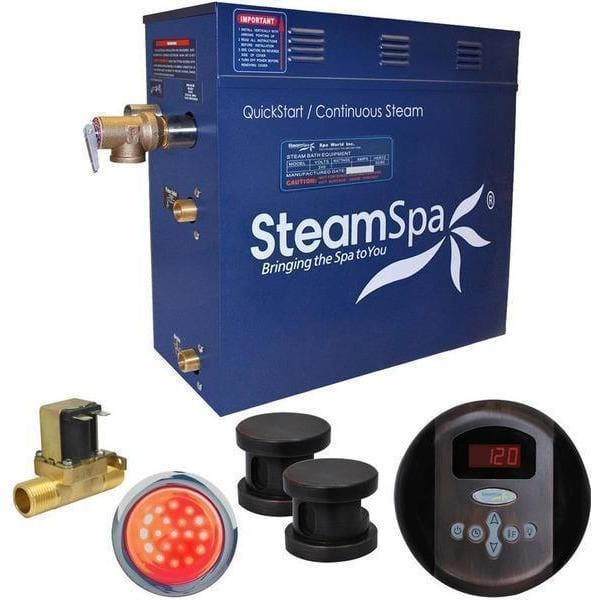 Steam Spa Steam Generators No SteamSpa QuickStart Indulgence 10.5 KW Acu-Steam Bath Generator IN1050OB