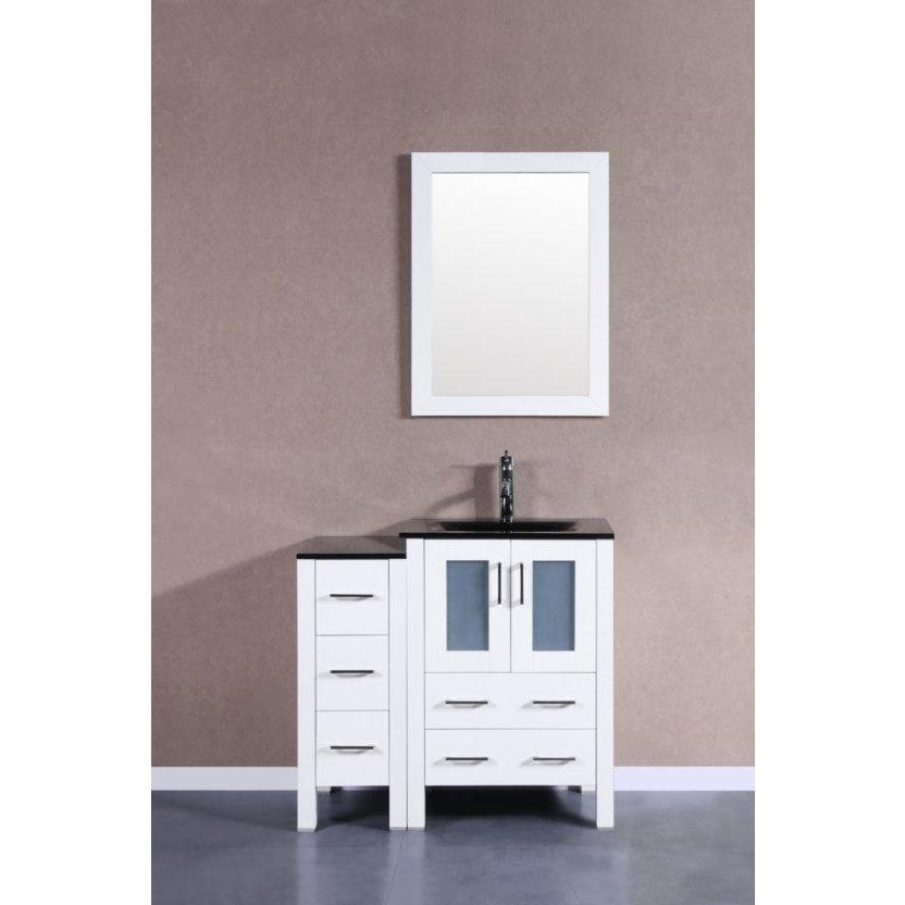 "Bosconi 36"" Single Vanity Bathroom Vanity AW124BGU1S"