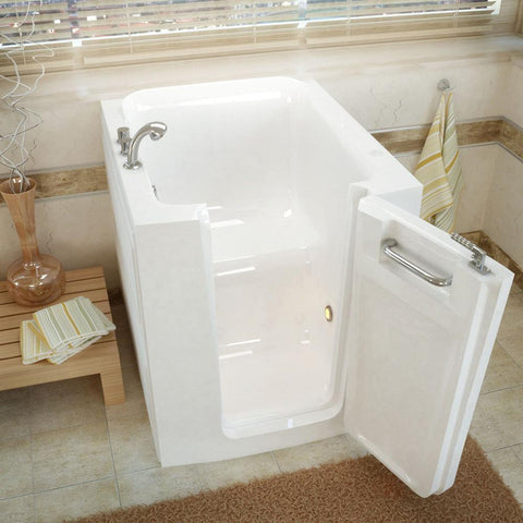 Meditub Walk-In Right Door White  Soaking Bathtub 3238RWS