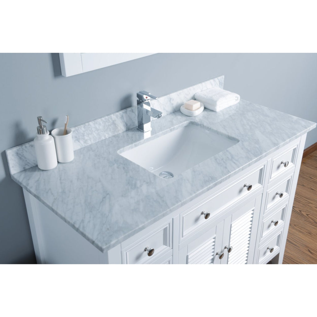 "Bosconi 48"" Single Vanity Bathroom Vanity KWH3048CMU"