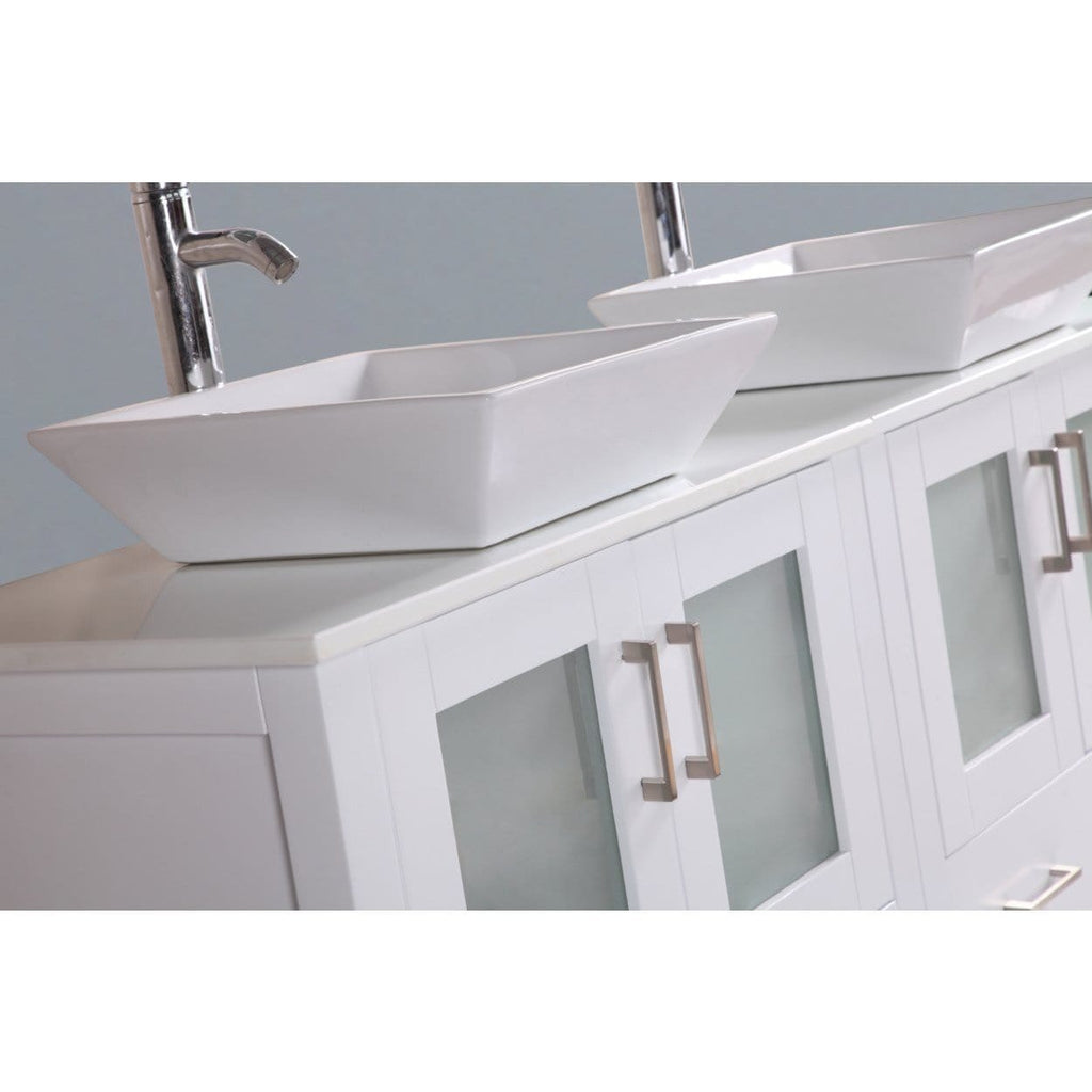 "Bosconi 48"" Double Vanity Bathroom Vanity AW224S"