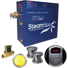 SteamSpa QuickStart Indulgence 12 KW Acu-Steam Bath Generator IN1200BN
