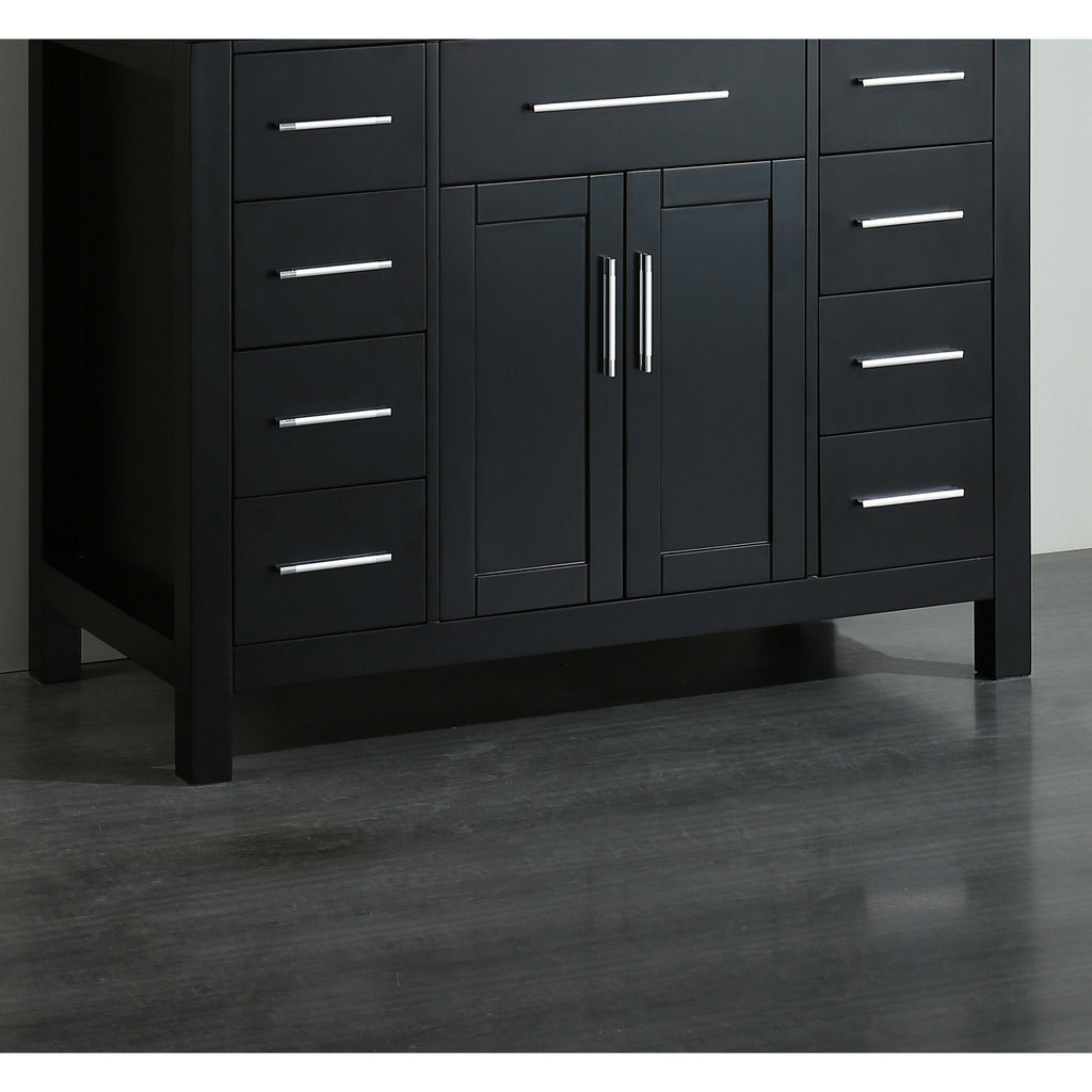 "Bosconi 43"" Bathroom Main Vanity Cabinet SB-252-7BMC"
