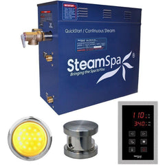Steam Spa Steam Generators No SteamSpa QuickStart Indulgence 7.5 KW Acu-Steam Bath Generator INT750BN