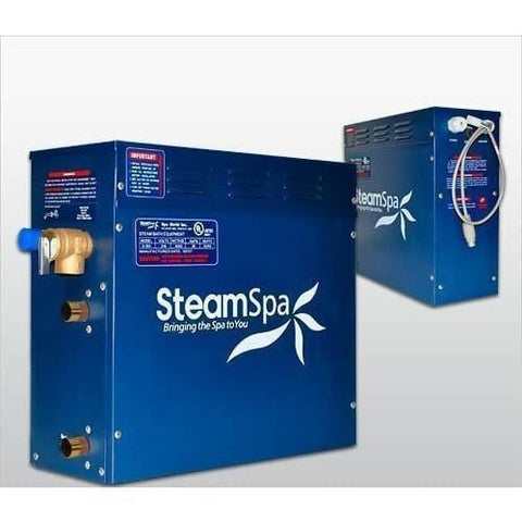 Steam Spa Steam Generators No SteamSpa QuickStart Indulgence 9 KW Acu-Steam Bath Generator IN900GD